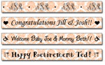 Personalized Poppy Damask Tape